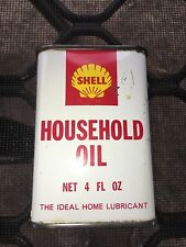 SHELL HOUSEHOLD OIL 4 FL OZ TIN