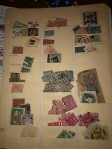 Vintage Lot Of (85+) India Indian States Used Stamps Mixed Variety