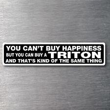 Buy a Triton Sticker 10 yr water/fade proof vinyl