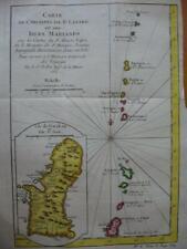 1752 - BELLIN - Map MARIANA Islands GUAM