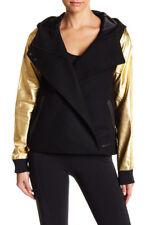 NWT Women's Nike Destroyer Butterfly Hooded Jacket Black Gold 632068 012
