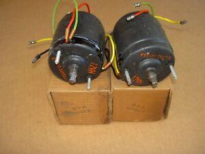 56-61 Ford, 56-60 T-Bird power window motors, 1 pair, B6A-14553-C, NOS