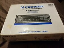 Old School Pioneer SuperTuner III CD Am Fm DEH415 Car Stereo Vintage