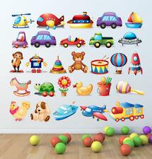 Learning ADESIVI MURALI LETTERE Educativo Bambini Stanza Bambini Decalcomania Arte Murale