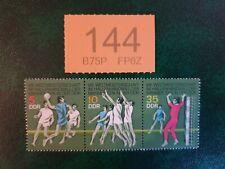 Germany DDR - 1974  - Eighth Men's World Indoor Handball stamps MNH !