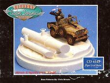 Custom Dioramics Pipe Line Base By Custom Dioramics 1/35 CD 6145