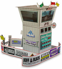 """BK 4813 1:48 Scale """"Race Tower"""" Photo Real Scale Building Kit"""