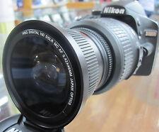 Wide Angle macro fisheye lens C-PL for Nikon d3100 d3000 d5000 d5100 d3200 RB