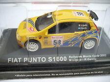 FIAT PUNTO S1600 RALLY MCARLO 2003 M.LIGATO R.GARCIA SCALA 143