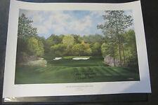 Bernhard Langer and Artist HAND SIGNED 1993 Augusta Lithograph #173/950 K Garner