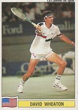 N°152 DAVID WHEATON USA PANINI TENNIS ATP TOUR 1992 STICKER VIGNETTE