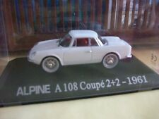 RENAULT ALPINE A108 COUPE 2+2 1961 1/43    B2