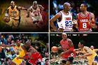 Kobe Bryant & Michael Jordan Collage Poster (24x36) inches