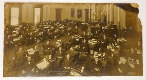Large 1905 Michigan State Senate Panoramic Photograph by George Lawrence