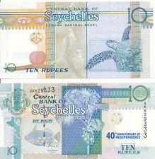 Seychellen / Seychelles - 10 Rupees 2013 (2016) UNC - Pick 52, Gedenkausgabe