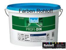 12.5L Herbol Profi Din matt Dinweiß weiß Wandfarbe Innenfarbe Deckenfarbe