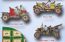 McCall 1636:Vintage Embroidery Transfer Antique Cars for  Pictures or Pillow top