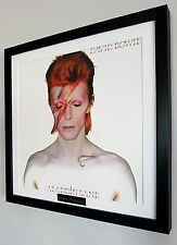 David Bowie-Aladdin Sane-Framed Original Album Cover-Ziggy Stardust
