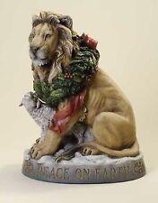 "Joseph's Studio 19.25""H Lion and Lamb Peace on Earth Christmas Statue # 38268"