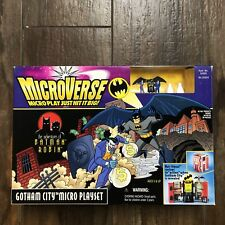 1996 MicroVerse Gotham City Micro Playset Factory Sealed (Kenner)