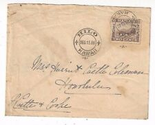 1888/1898 Hilo Hawaii to Castle & Cooke Honolulu Hawaii