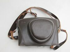 """Beautiful Leicaflex SL brown leather case with strap, NICE """"LQQK"""""""