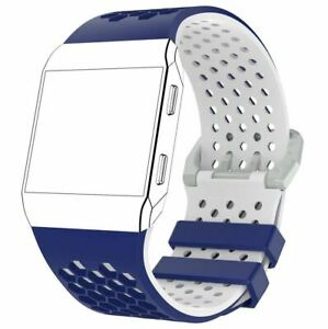 For Fitbit Ionic Strap Silicone Sport Fitness Replacement Watch Wrist Band LARGE