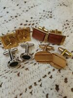 Vintage Cufflink Collection 4 Pairs