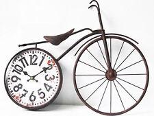 Large Bicycle 56cm Wall Clock Hanging Metal Vintage Bike Funky Design