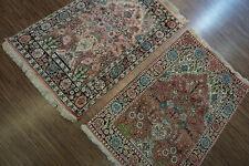 2072511-Wunderschöner Original Paar Kaschmir Seide,Tappeto,Teppich,Carpet,Rug