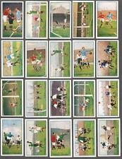 1927 Gallaher's Cigarettes Footballers In Action Tobacco Cards Complete Set
