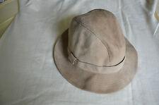 Damenhut Wildleder-Größe M bzw. 56