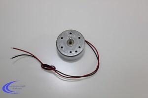 Miniatur Mini Gleichstrommotor bis 5 V - Flache Bauform mit Welle DC Solar Motor