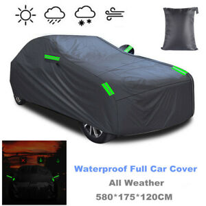 Car Cover Waterproof All Weather for Outdoor Full Cover Rain Sun UV Protection