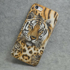 New Tiger PU Coated Design hard Case Cover For iphone 5C