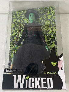 Barbie Signature - From the Broadway Show Wicked - Elphaba OPEN/ROUGH BOX