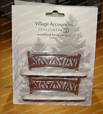 Woodland Fence (Dept 56, 4033839) Village Accessories, Landscape (Retired)