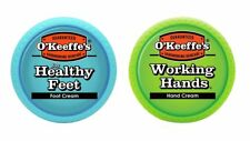 O'Keeffe's Working Hands 3.4 ounce Healthy Feet 3.2 ounce Combination Pack of