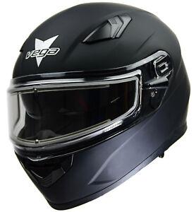 Vega Helmets Unisex-Adult Modular Motorcycle /& Snowmobile Helmet 30/% Larger Shield and Sunshield Caldera Yellow Blade Graphic, Small