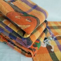 Lot of 2 Kitchen Towel Fruit Saying Fine-Apple Pineapple Hostess Gift Opal House