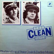 PETER COOK & DUDLEY MOORE Clean Tapes / Very Best Of LP - Derek & Clive