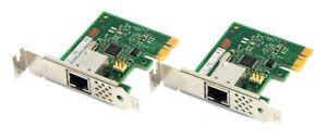 2x HP 728562-001 Intel Single-Port PCI-e 10/100/1000 Ethernet Adapter