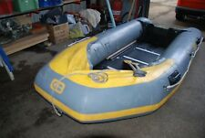 Barrus GB 12ft Inflatable boat overall in very good condition. 1 faulty valve