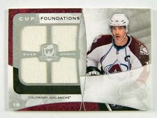08-09 UD the Cup Foundations Joe Sakic quad jersey #D13/25 #CF-JO *25588