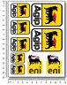 AGIP Aufkleber Verklaidung Laminiert profi stickers aprilia ducati racing agip