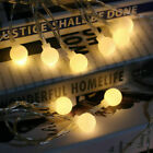 Led Solar/battery Garden Fairy String Lights Wedding Party Outdoor Indoor Decor