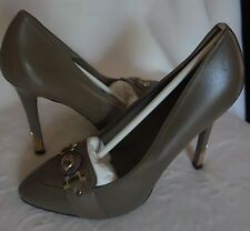 Versace Collection heels Shoes logo pumps sz 39 new