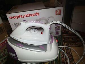 Morphy Richards 333020 2200W Jet Steam Generator Iron - White