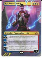 Magic The Gathering - 1X Altered Art Ral, Izzet Viceroy *Hand Painted* MTG Card