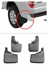 For 2004-14 Ford F-150 Front Rear 4pcs Splash Mud Guard Flaps WITH Fender Flares